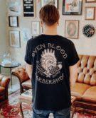 Rooster T-Shirt Black Back
